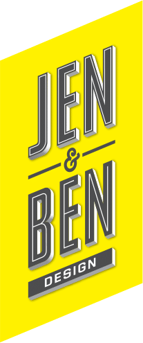 Jen and Ben Design logo