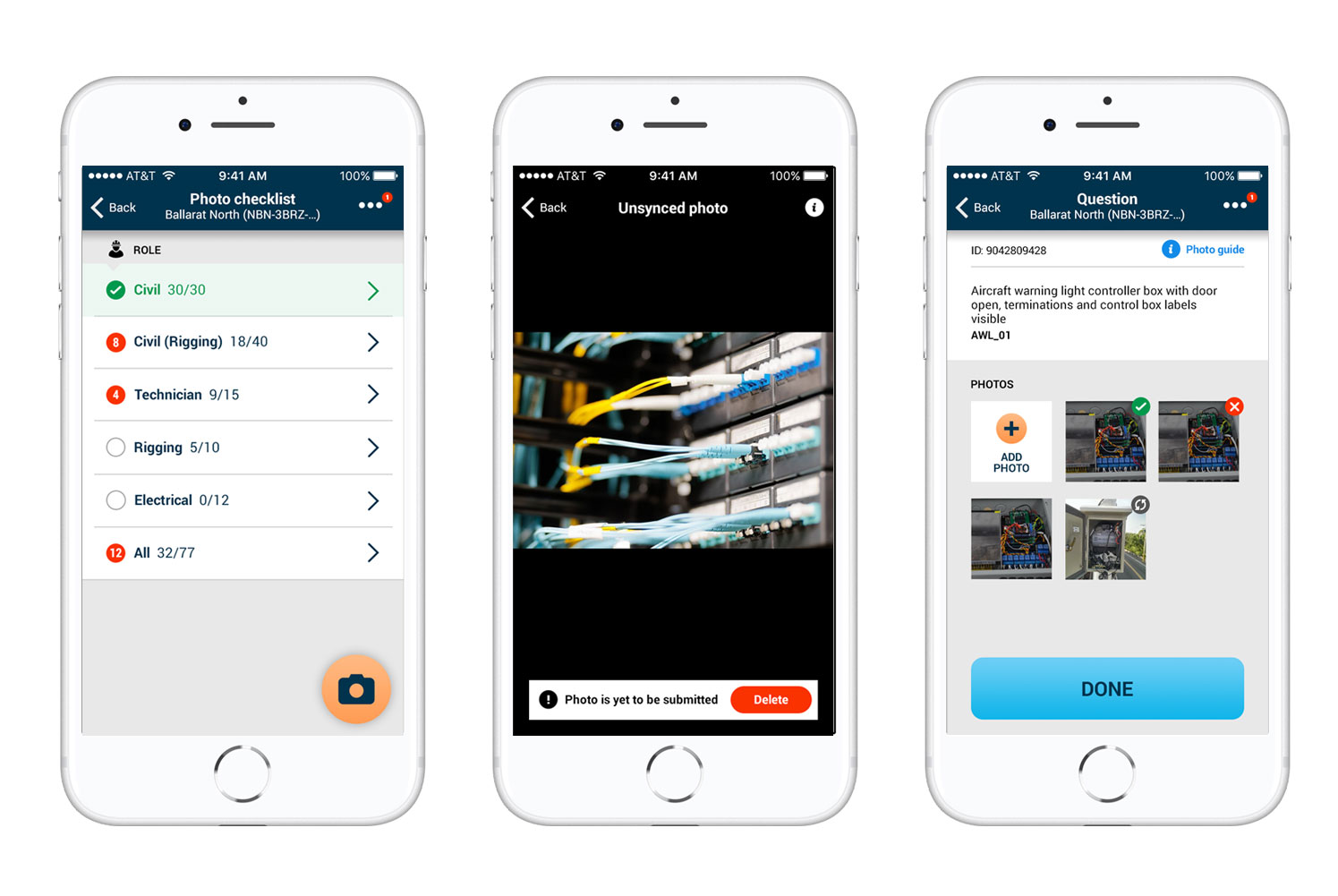 Visionstream VIEWS app on mobile