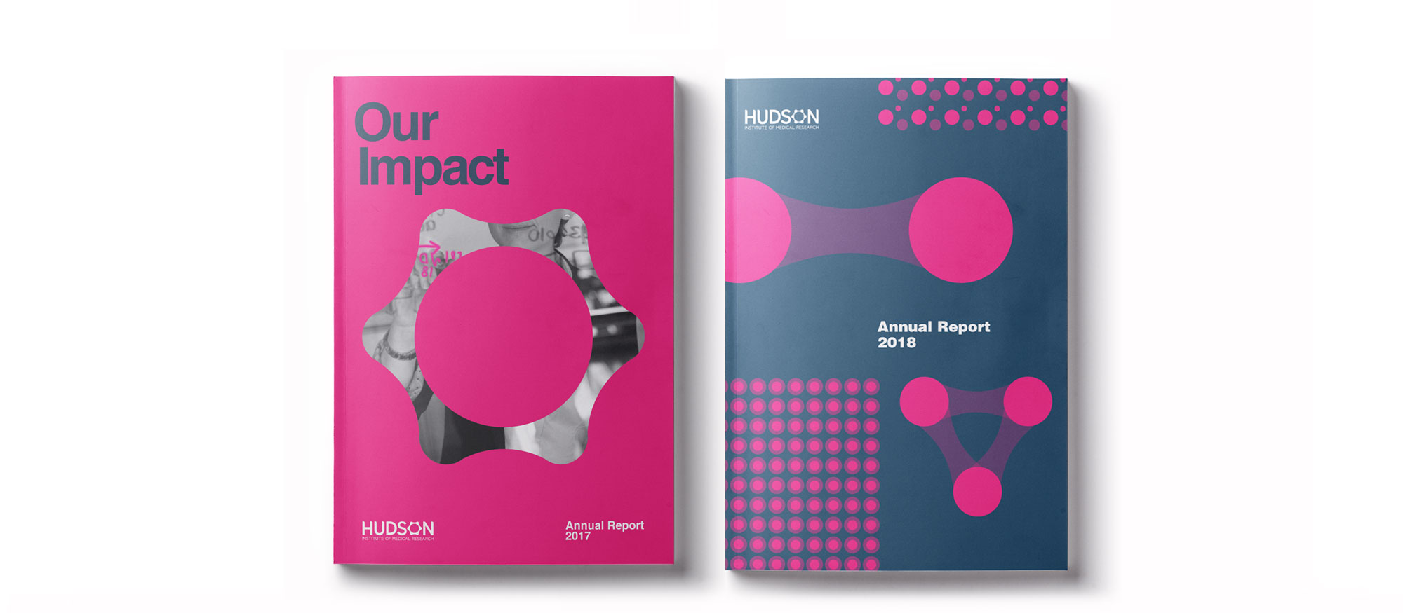 Hudson's 2017 and 2018 annual reports