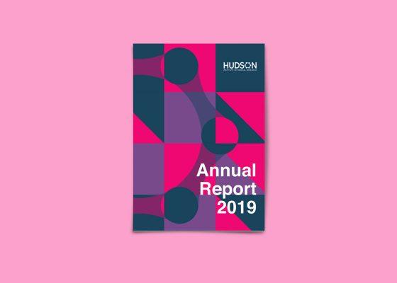 2019 Hudson Institue annual report cover