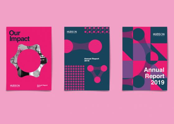 Annual report design evolution